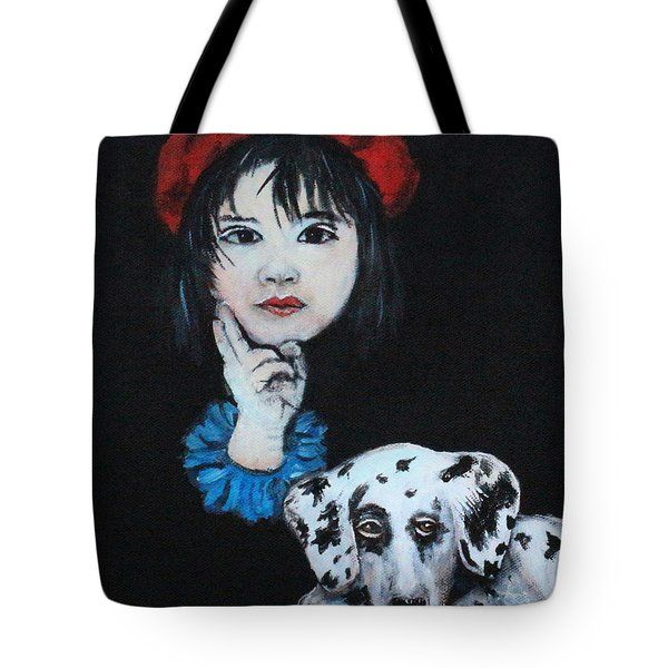 Kyoto Mirror To The Soul Tote Bag by The Art With A Heart By Charlotte Phillips