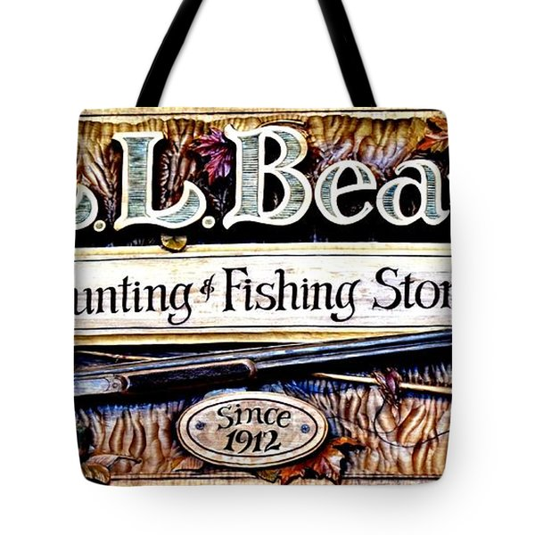 L. L. Bean Hunting And Fishing Store Since 1912 Tote Bag
