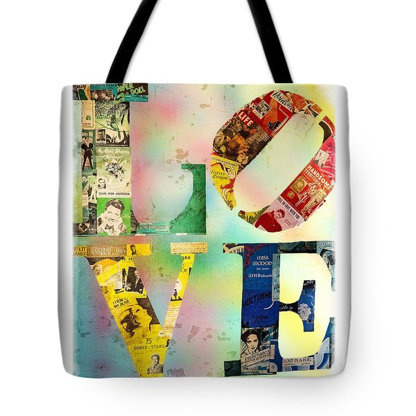 L O V E Tote Bag by Jordan Blackstone