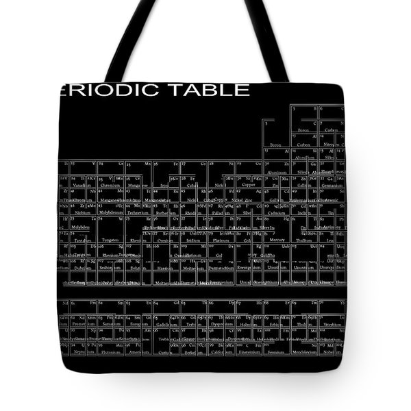 L S D Periodic Table Tote Bag by Daniel Hagerman
