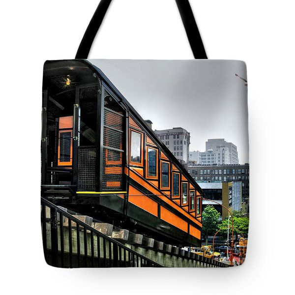 Los Angeles Angels Flight Tote Bag