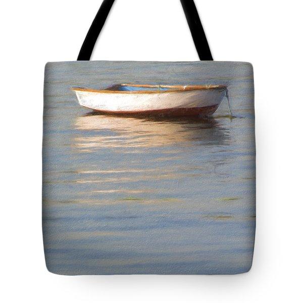 La Barque Au Crepuscule Tote Bag