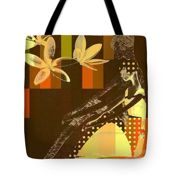 La Bella - 133 Tote Bag by Variance Collections
