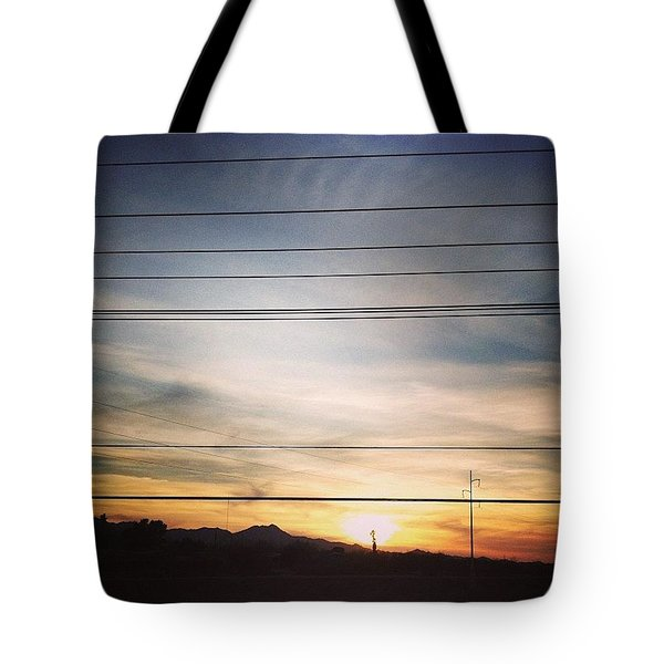 La Canada Sunset Tote Bag