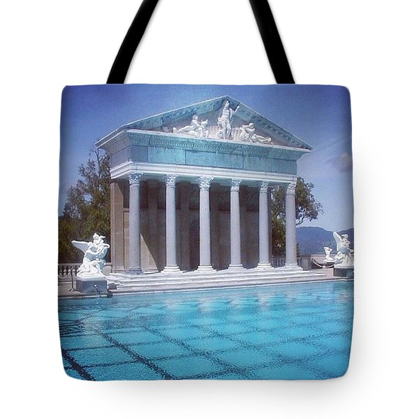 La Dolce Vita At Hearst Castle - San Simeon Ca Tote Bag