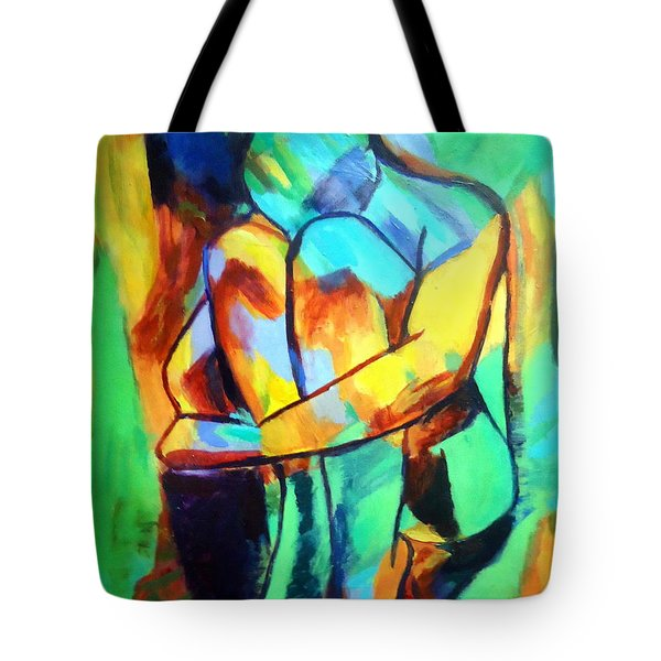 La Douleur De Vivre Tote Bag by Helena Wierzbicki