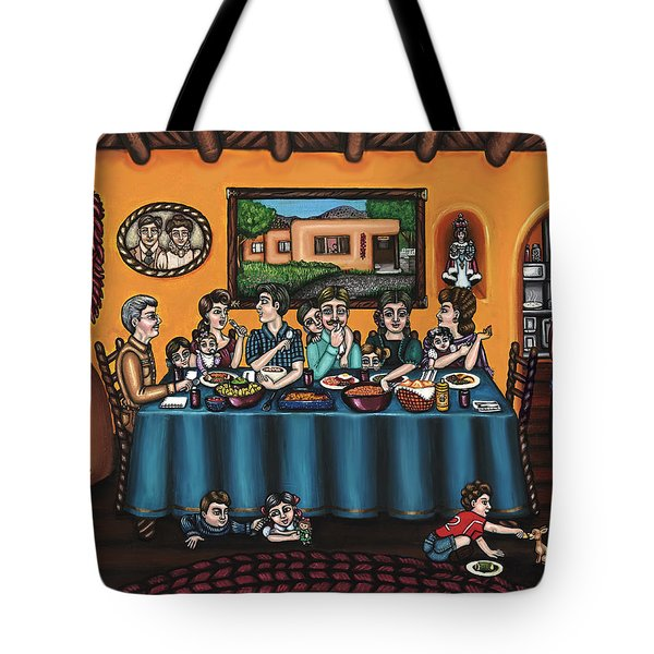 La Familia Or The Family Tote Bag
