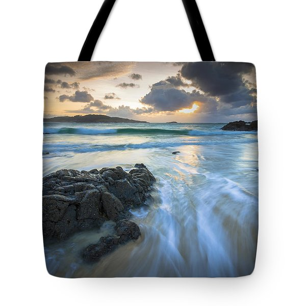 La Fragata Beach Galicia Spain Tote Bag