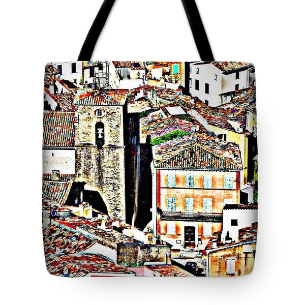 La Garde Freinet Tote Bag by Lainie Wrightson