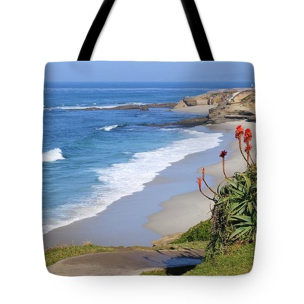 La Jolla Beach Tote Bag