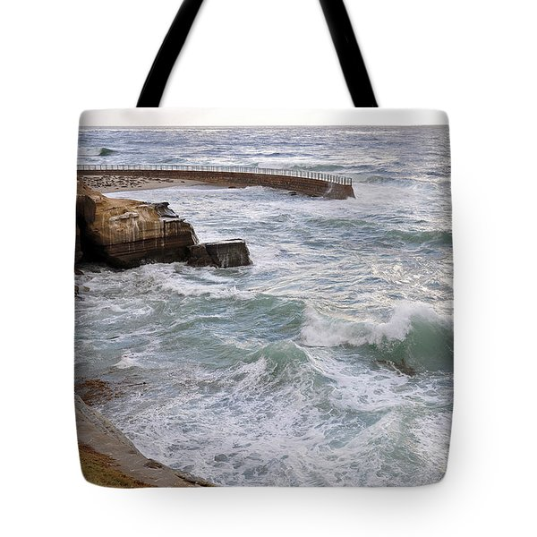 La Jolla Ca Tote Bag by Gandz Photography