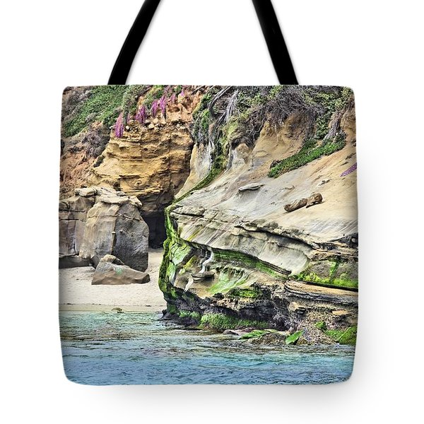 La Jolla Cliffs Tote Bag