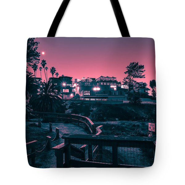 Tote Bag featuring the photograph La Jolla Cove by Sonny Marcyan