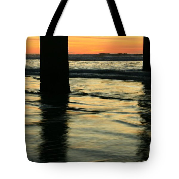 La Jolla Shores Sunset Tote Bag