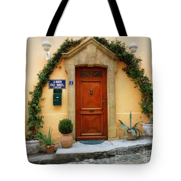 La Maison Du Miel Tote Bag