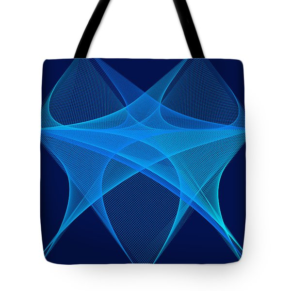 Tote Bag featuring the digital art La Mouche by Karo Evans