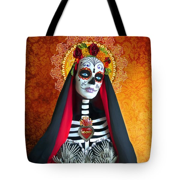 La Muerte Tote Bag by Tammy Wetzel