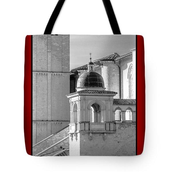 La Pace Sulla Terre With Basilica Details Tote Bag