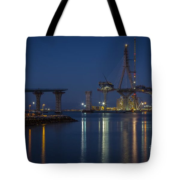 La Pepa Bridge Cadiz Spain Tote Bag