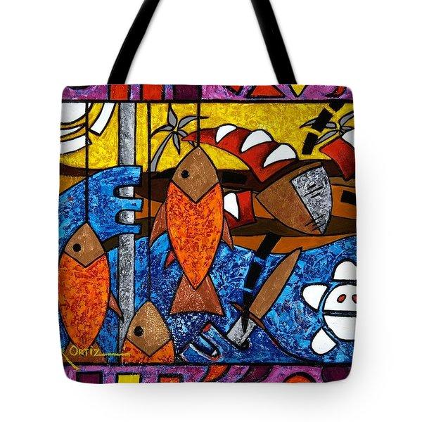 La Pesca Virgen De Un Hombre Honrado Tote Bag