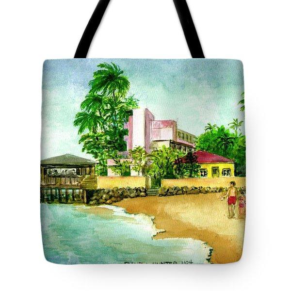 La Playa Hotel Isla Verde Puerto Rico Tote Bag