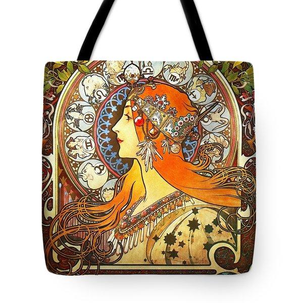 La Plume Zodiac Tote Bag