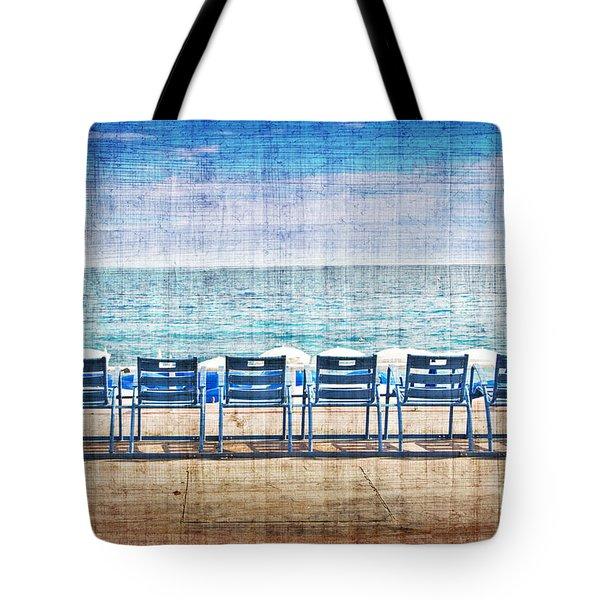 La Promenade Des Anglais Tote Bag