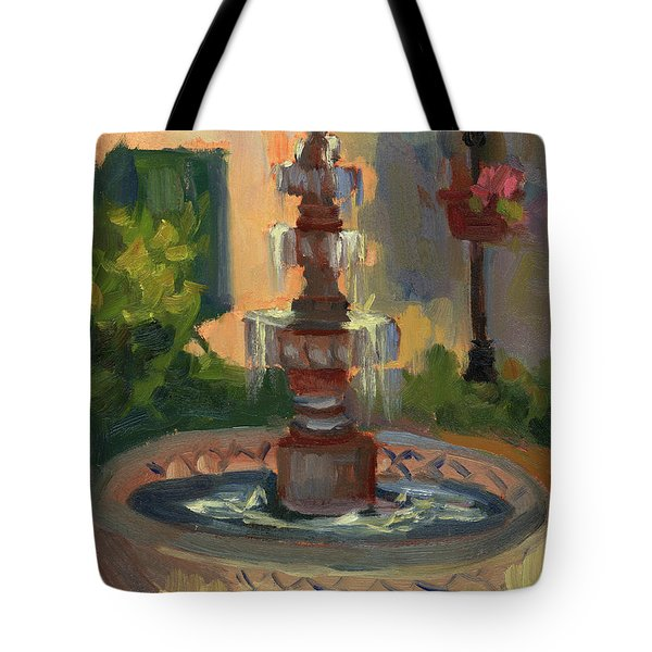 La Quinta Resort Fountain Tote Bag