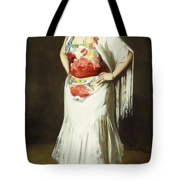 La Reina Mora Tote Bag by Robert Henri