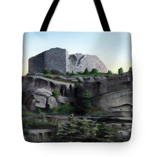 La Rocca De Monte Calvo Tote Bag