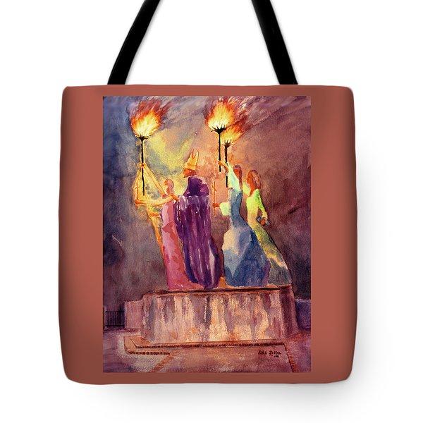 La Rogativa San Juan Puerto Rico Tote Bag by Estela Robles