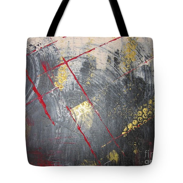 Tote Bag featuring the painting La Ruche by Lucy Matta