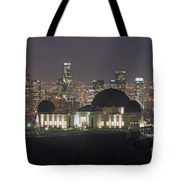 L.a. Skyline Tote Bag