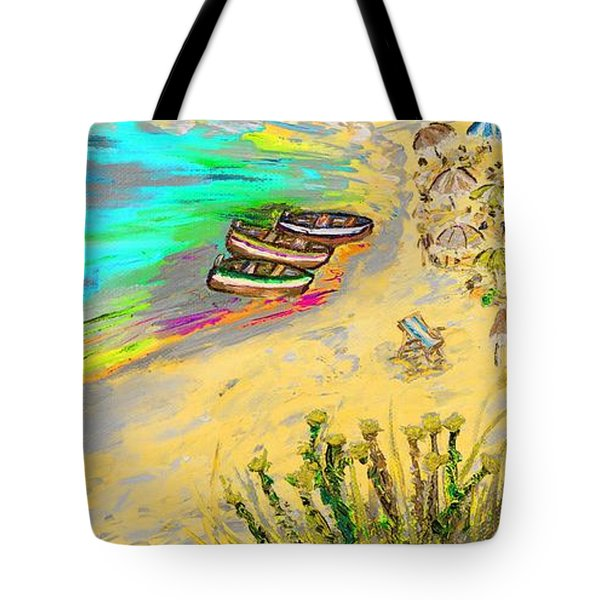 La Spiaggia Tote Bag by Loredana Messina