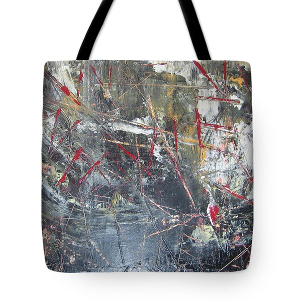 Tote Bag featuring the painting La Vie by Lucy Matta