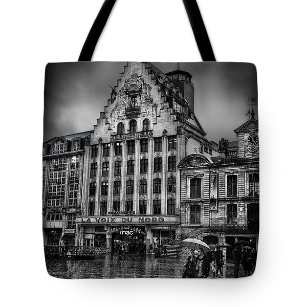 La Voix Du Nord Tote Bag by Ian Good