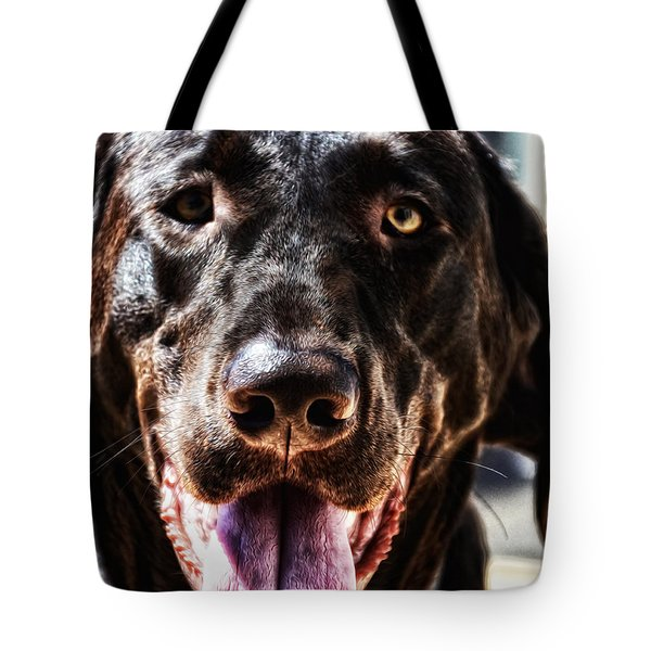 Lab Tote Bag by Bill Cannon