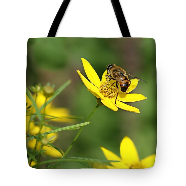 L'abeille Tote Bag by Nikolyn McDonald