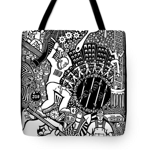 Labor Daze Tote Bag