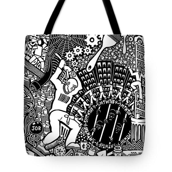 Labor Daze Tote Bag by Matthew Ridgway