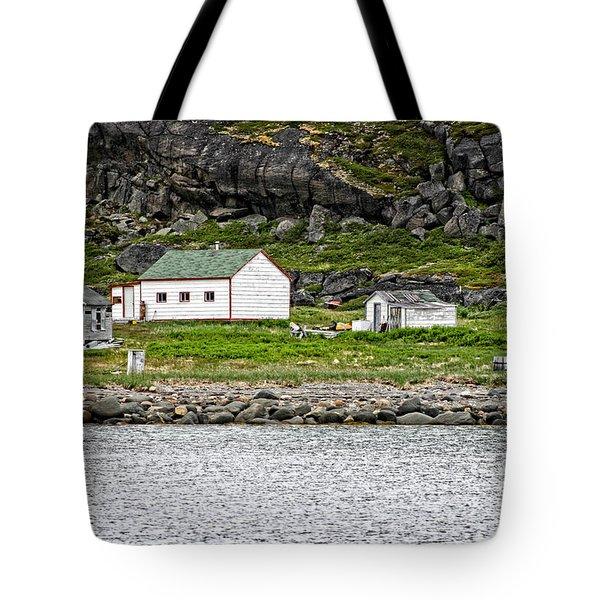 Labrador Fish Camp Tote Bag