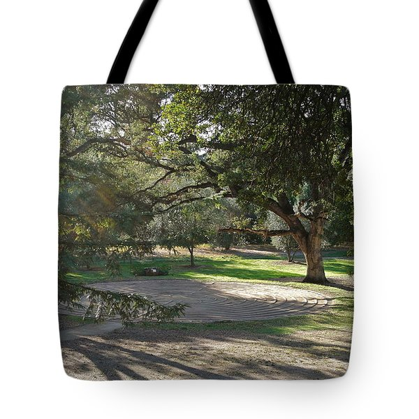 Labyrinth Retreat Tote Bag