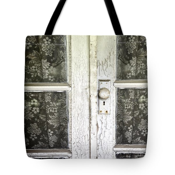 Lace Curtains Tote Bag by Margie Hurwich