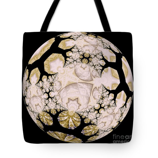 Lace Tote Bag by Elizabeth McTaggart