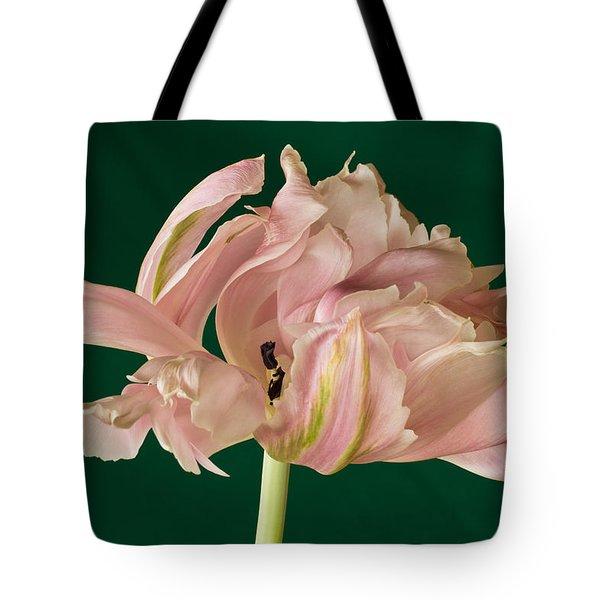 Lacey Tulip Tote Bag