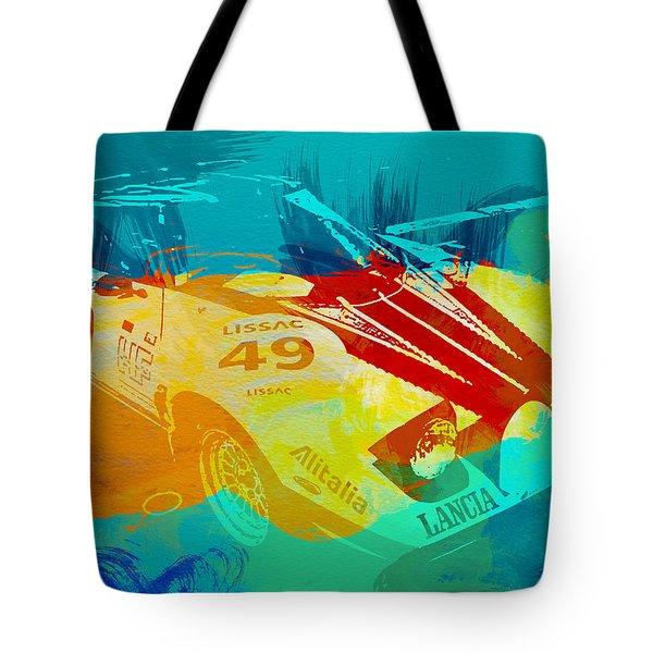 Lacia Stratos Watercolor 1 Tote Bag by Naxart Studio
