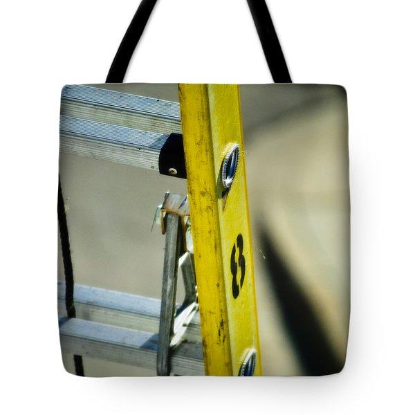 Ladder No 8 Tote Bag by Christi Kraft