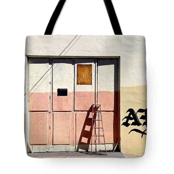 Ladder Shadow Tote Bag