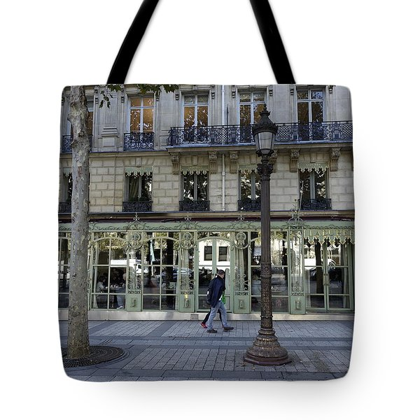 Laderee On The Champs De Elysees In Paris France  Tote Bag