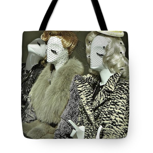 Ladies A La Mode Tote Bag
